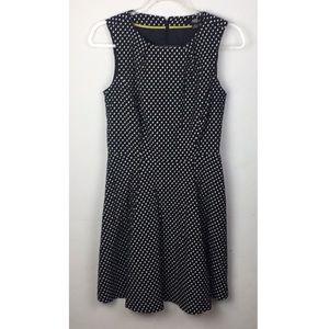 ABS Allen Schwartz Polka Dot Sheath Dress
